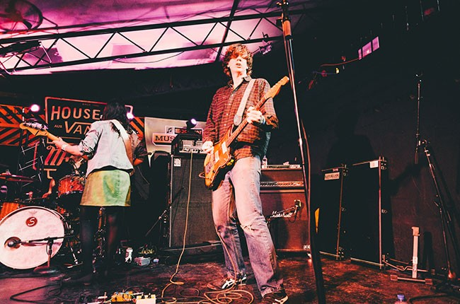 Thurston Moore performs with Chelsea Light Moving