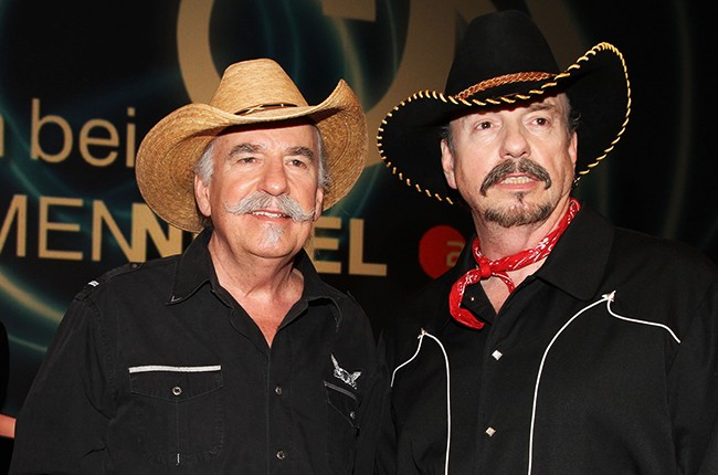 Howard Bellamy and David Bellamy of the Bellamy Brothers