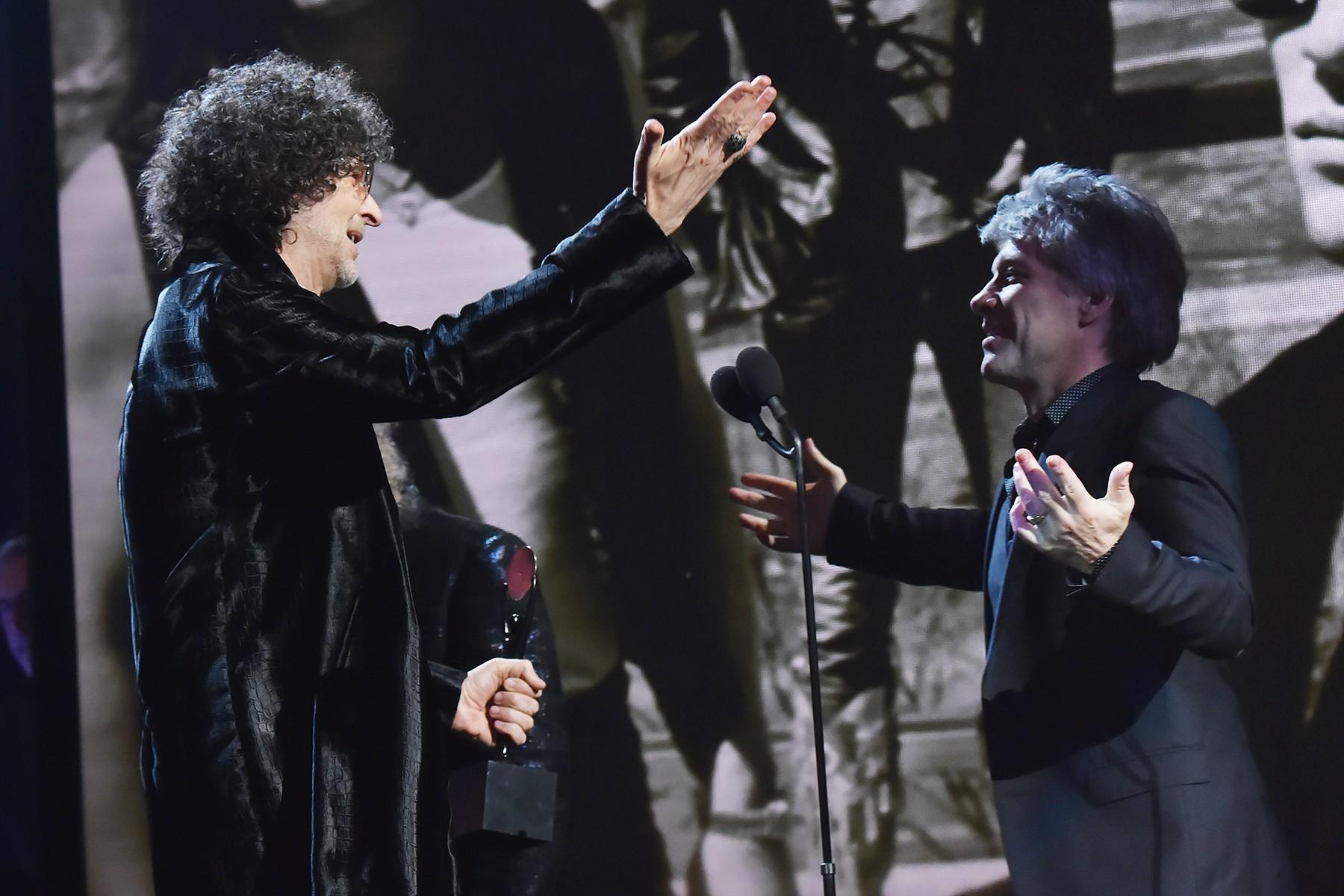 Howard Stern & Bon Jovi
