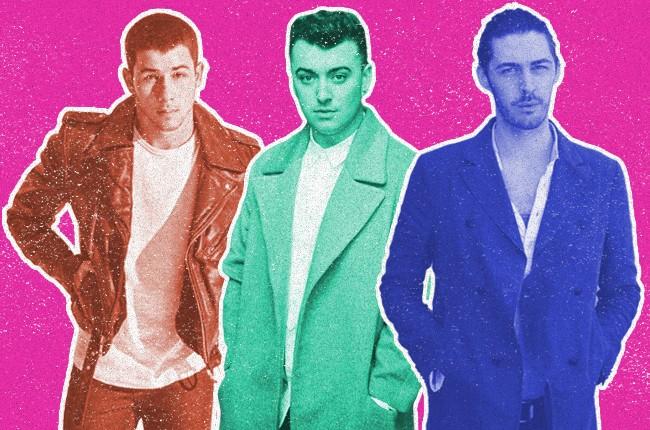 Nick Jonas, Sam Smith and Hozier