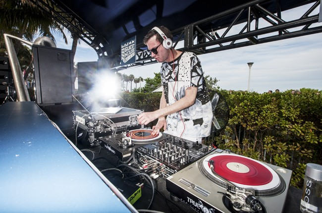 Hudson Mohawke performs at Red Bull Guest House in Miami