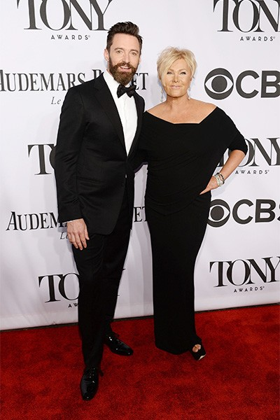 Hugh Jackman attends the 68th Annual Tony Awards