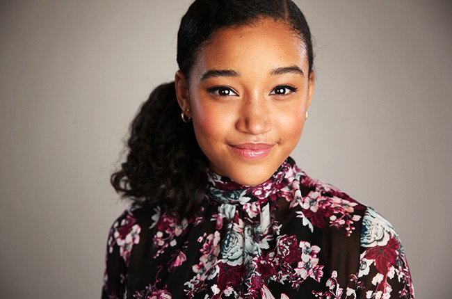 Amandla Stenberg poses for a portrait during the NBCUniversal Summer Press Day 2015