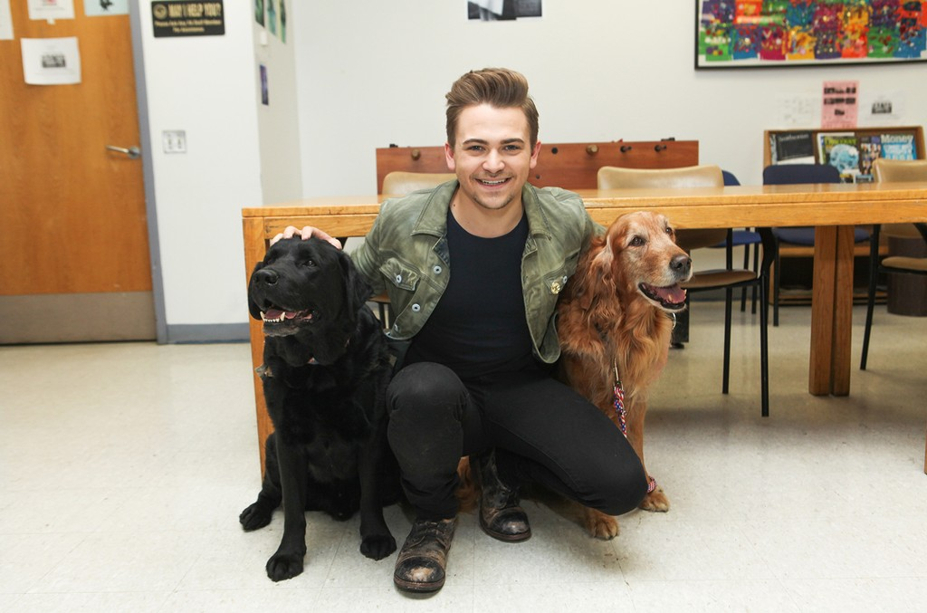 Hunter Hayes attends the Heartgardians Campaign Launch at Manhattan VA Medical Center on April 11, 2017 in New York City.