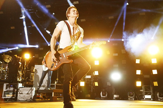 Hunter Hayes performs at the 2014 CMA Music Festival