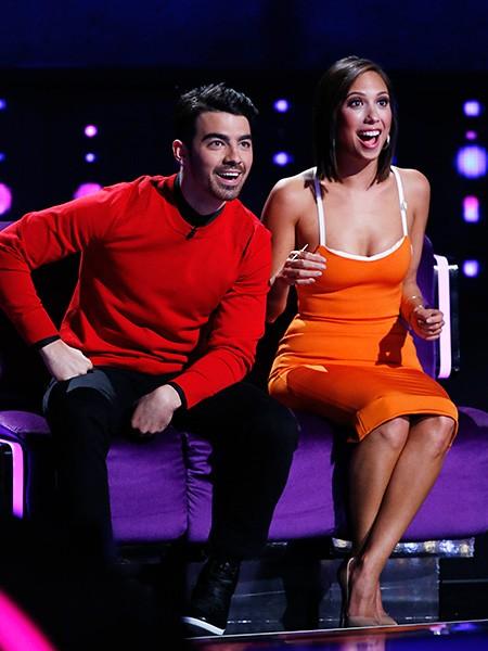 Joe Jonas and Cheryl Burke