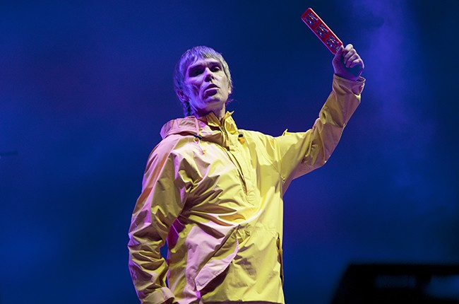 Ian Brown the Stone Roses 2016