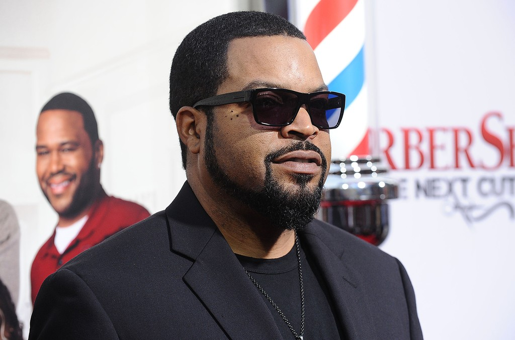 Ice Cube at TCL Chinese Theatre on April 6, 2016 in Hollywood, Calif.