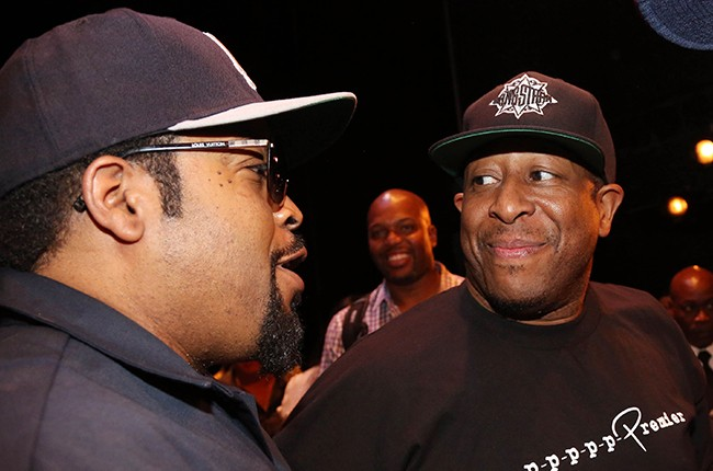 Ice Cube and DJ Premier 2015