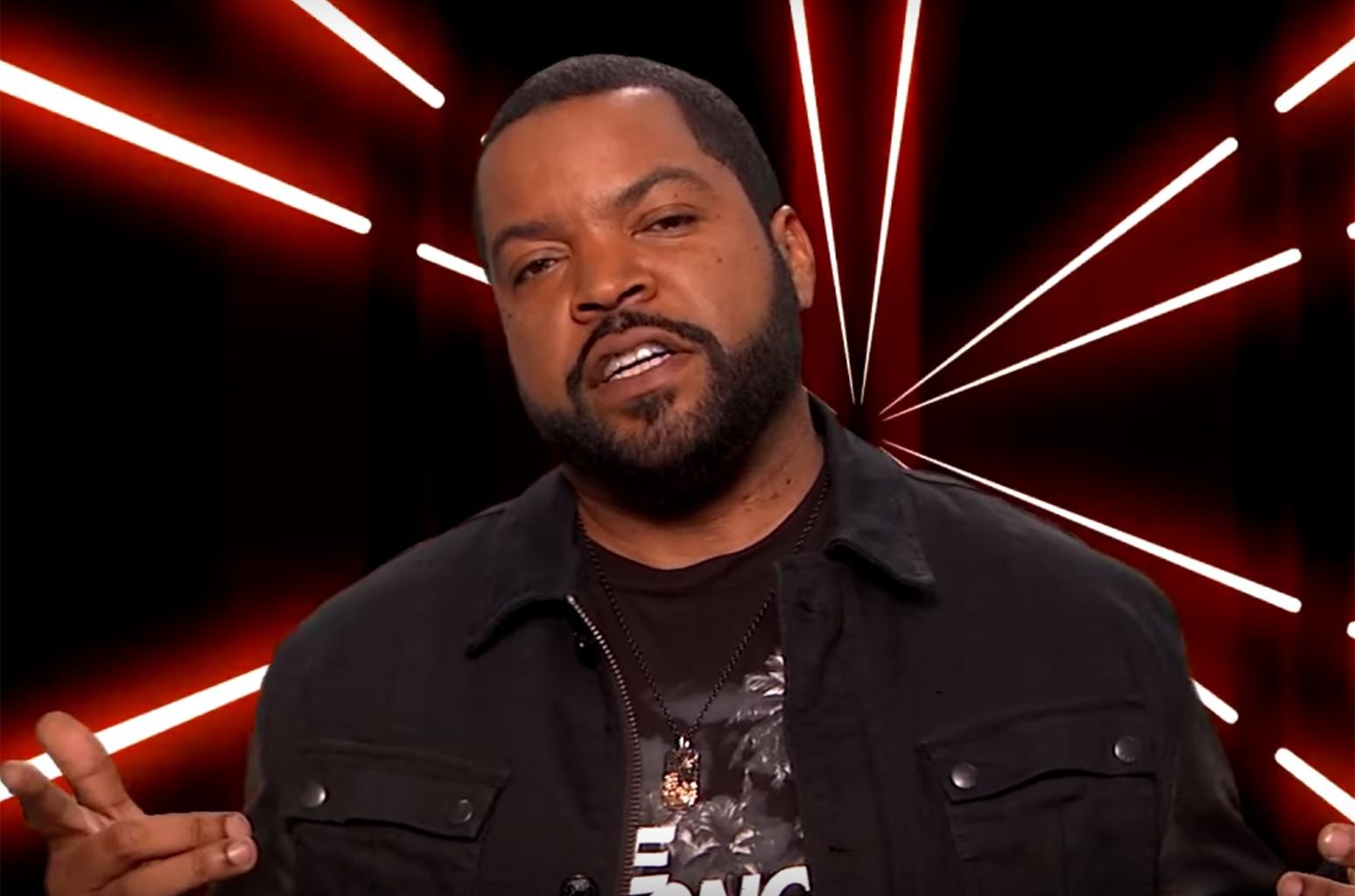 "Ice Cube's ""Kidz Bop Hip Hop"" on Jimmy Kimmel Live."