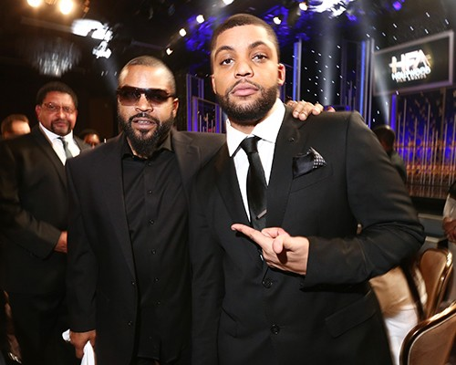 Ice Cube and O'Shea Jackson, Jr. attend the 19th Annual Hollywood Film Awards at The Beverly Hilton Hotel