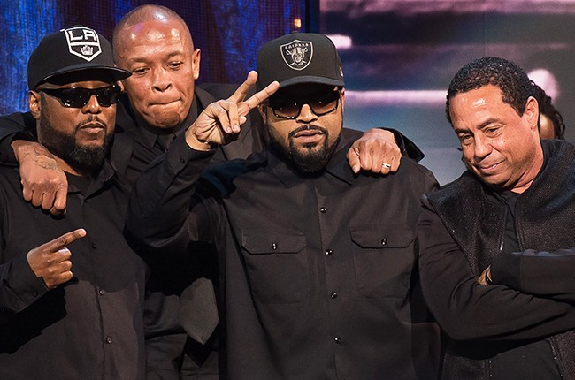 NWA Rock and roll hall of fame 2016