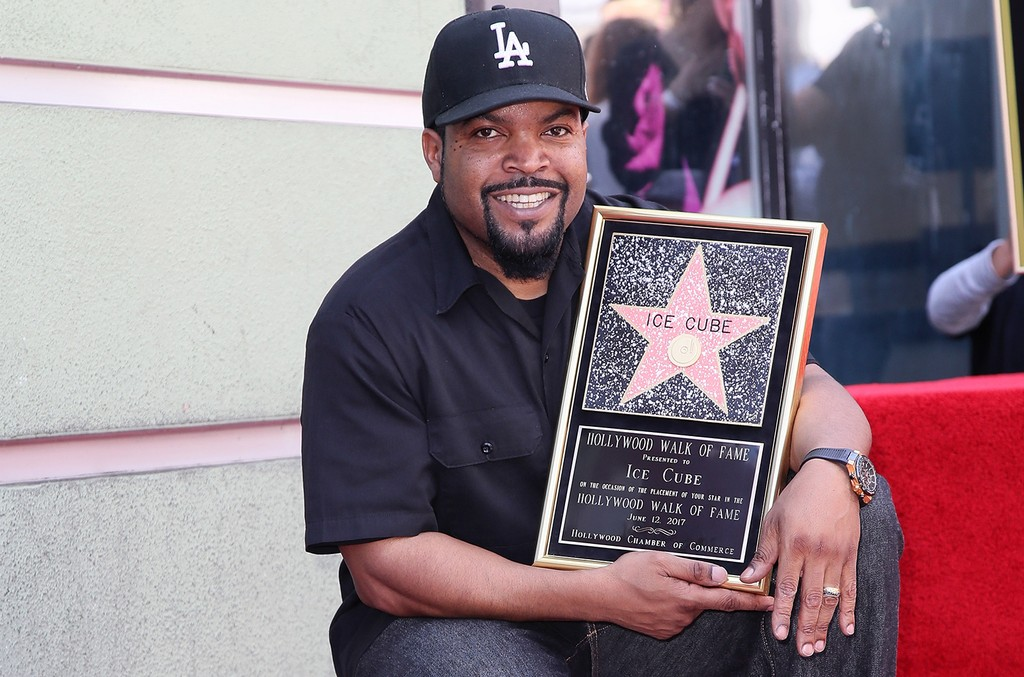 Ice Cube attends his being honored with a Star on the Hollywood Walk of Fame on June 12, 2017 in Hollywood, Calif.