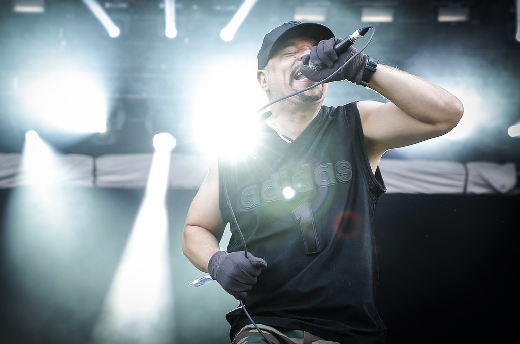 Ice-T performs in 2014