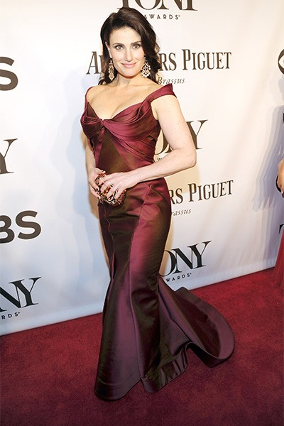 Idina Menzel attends the 68th Annual Tony Awards