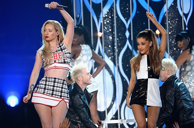 Iggy Azalea and Ariana Grande