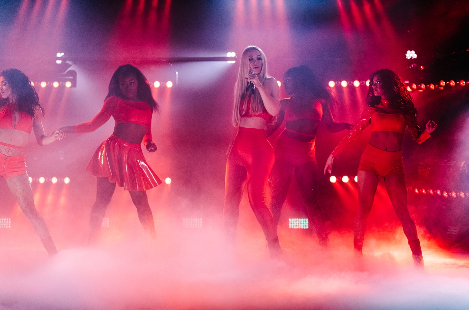 Iggy Azalea performs on The Late Late Show with James Corden on June 13, 2017 on the CBS Television Network.