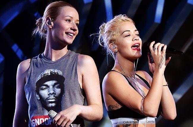 Iggy Azalea and Rita Ora, 2014.