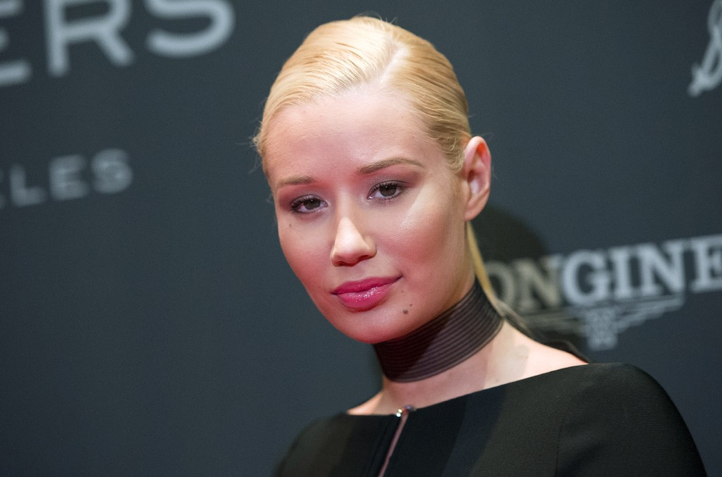 Iggy Azalea attends the Longines Masters Gala on Sept. 29, 2016 in Long Beach, Calif.