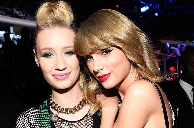 Iggy Azalea and Taylor Swift