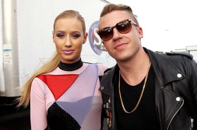 Macklemore and Iggy Azalea at iHeartRadio 2014