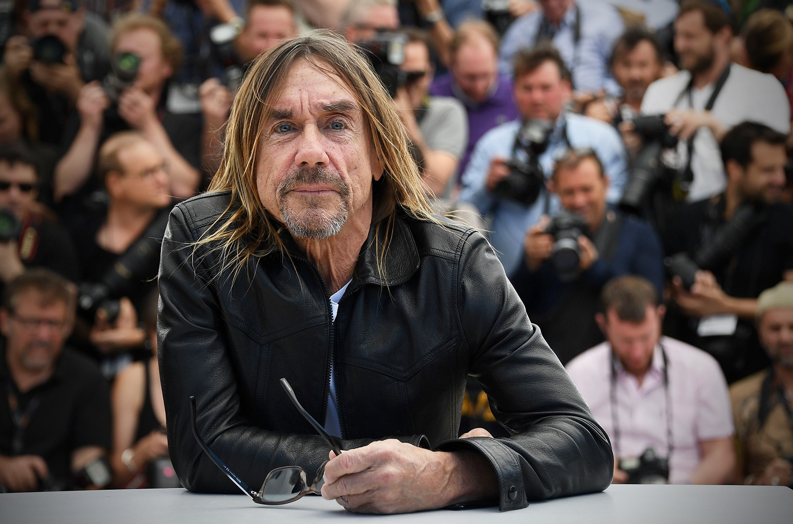 Iggy Pop at the 69th Cannes Film Festival