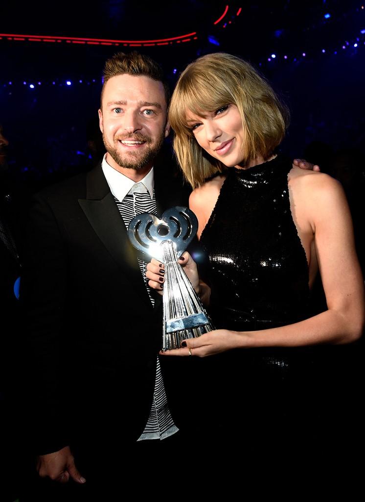 Taylor Swift and Justin Timberlake