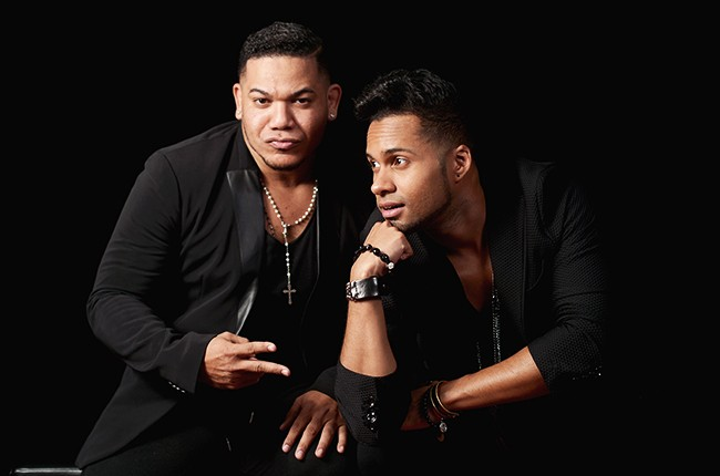Gio D'oleo and Ronny Mercedes of Voz A Voz