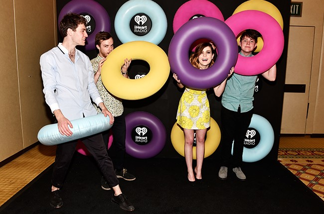 Echosmith attend The iHeartRadio Summer Pool Party 2015