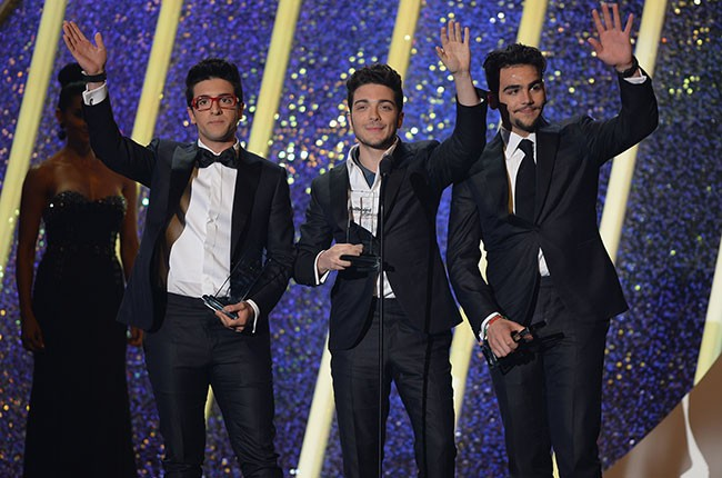 Il Volo at the 2014 Bilboard Latin Music Awards