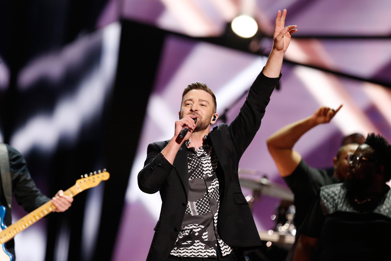 Justin timberlake on Eurovision