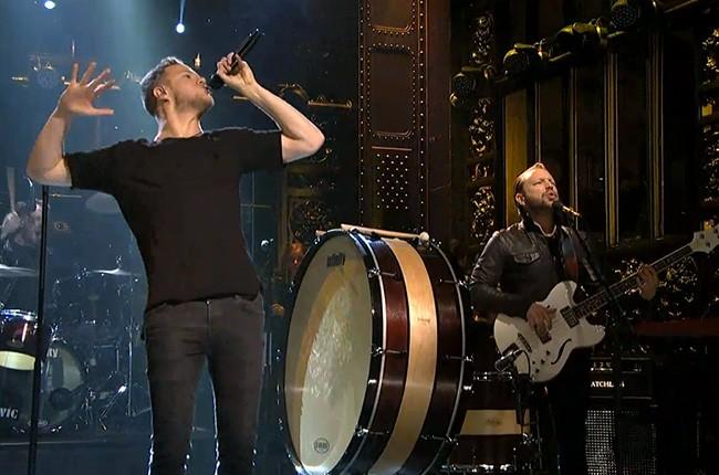 Imagine Dragons perform on 'SNL'