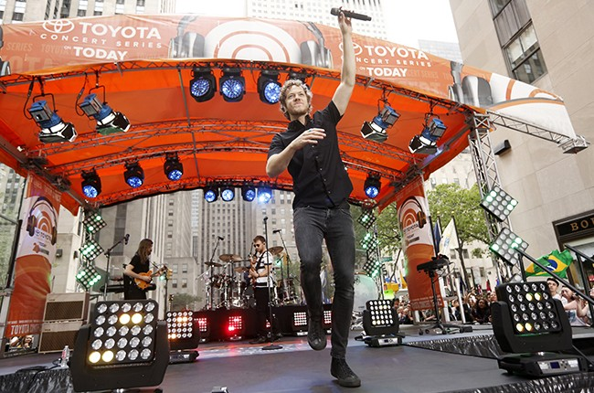 """Imagine Dragons appears on NBC News' """"Today"""" show"""