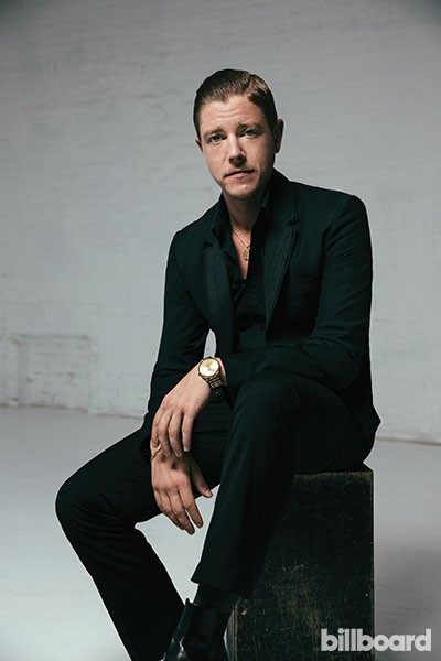 Paul Banks of Interpol, Billboard 2014.