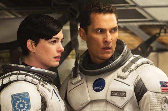 nterstellar starring Anne Hathaway and Matthew McConaughey