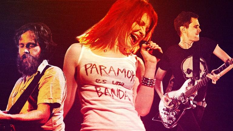 <p>Iron &amp&#x3B; Wine, Hayley Williams of Paramore &amp&#x3B; Matthew Bellamy of Muse&nbsp&#x3B;</p>