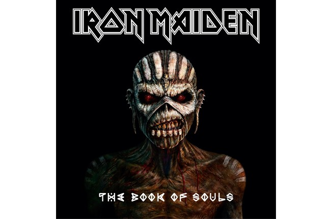 Iron Maiden Book of Souls 2015