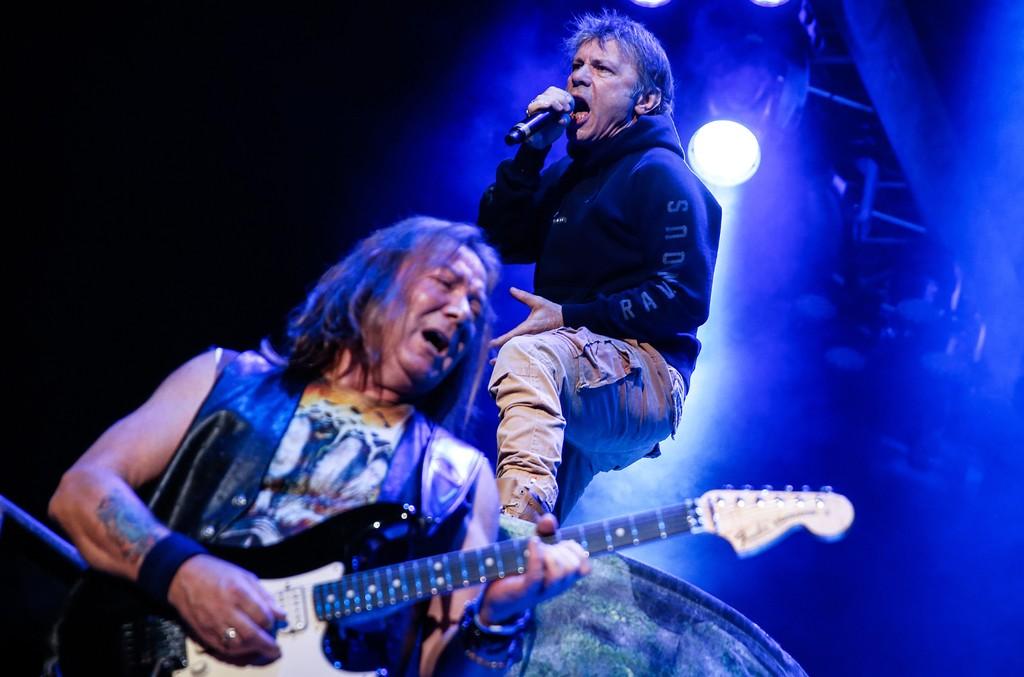 Iron Maiden, 2016