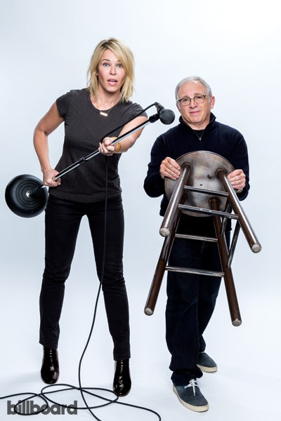 Irving Azoff & Chelsea Handler