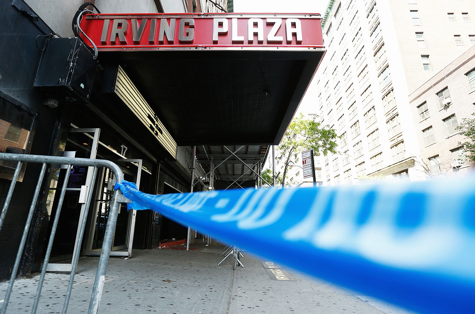 Irving Plaza photographed on May 26, 2016 in New York City.
