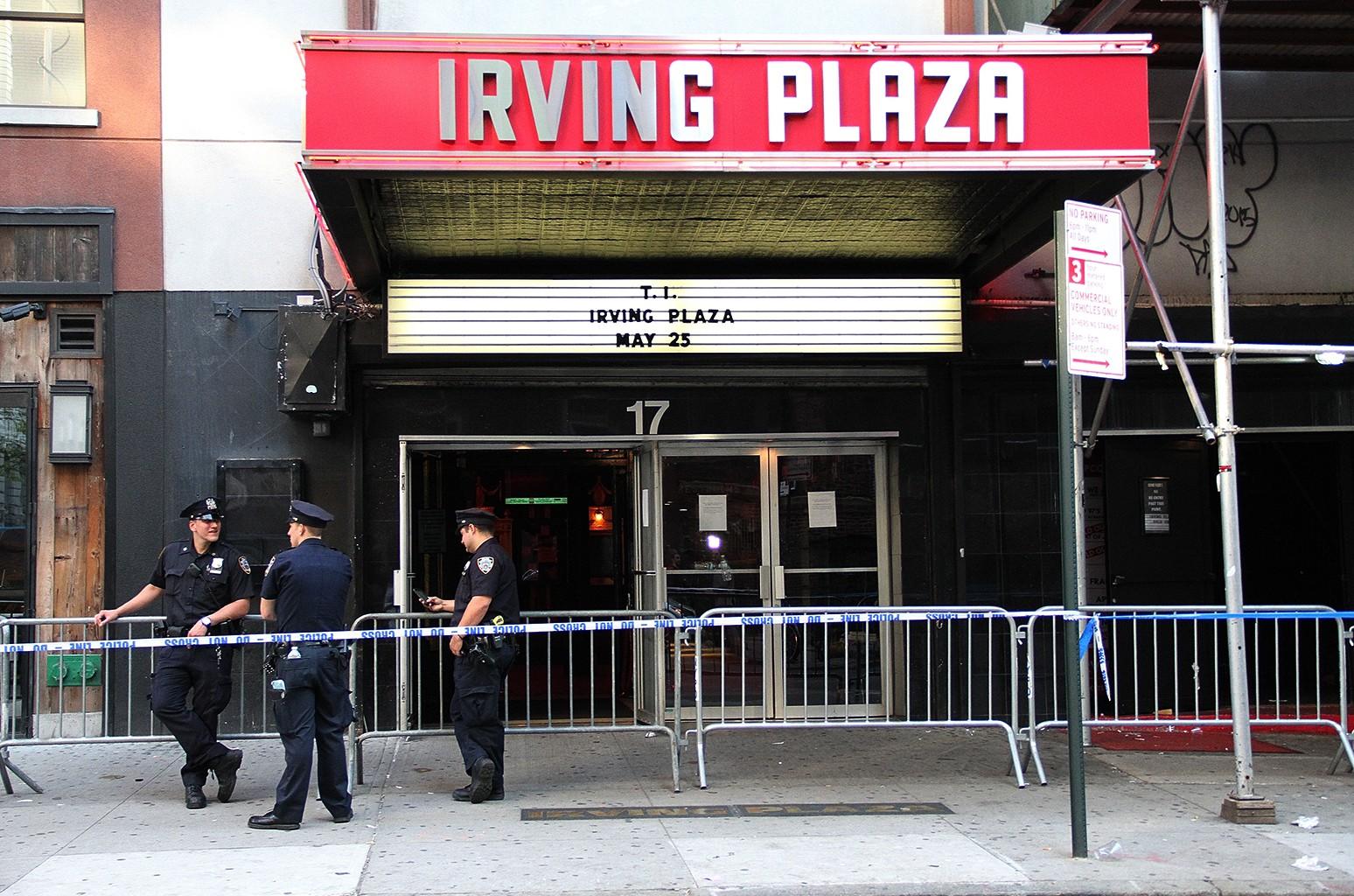 Irving Plaza in New York City