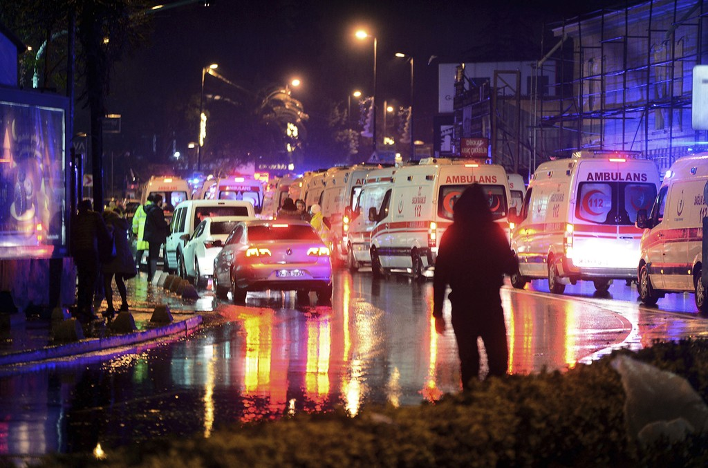 Istanbul attack in 2017
