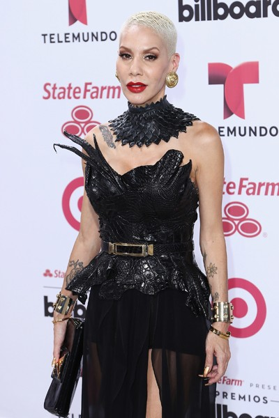 Ivy Queen arrives at 2015 Billboard Latin Music Awards