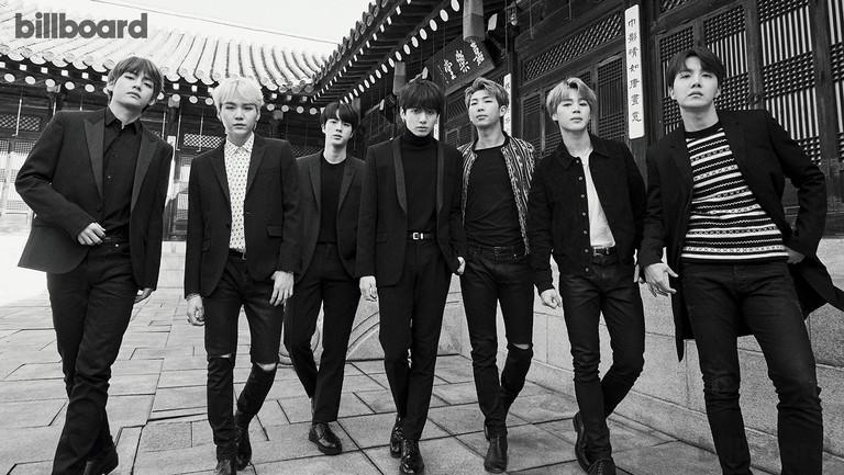 <p>From left: V,&nbsp&#x3B;Suga, Jin,&nbsp&#x3B;Jungkook, RM,&nbsp&#x3B;Jimin&nbsp&#x3B;and J-Hope of BTS photographed Jan. 19 at Korea House in Seoul. Styling by Lee Ha Jung. V,&nbsp&#x3B;Suga&nbsp&#x3B;and J-Hope wear Saint Laurent tops and jackets. Jin wears a COS top and&nbsp&#x3B;Saint Laurent jacket and shoes.&nbsp&#x3B;Jungkook&nbsp&#x3B;wears a COS top, Saint Laurent jacket and Prada shoes. RM wears a Saint Laurent jacket and shoes.&nbsp&#x3B;Jimin&nbsp&#x3B;wears a Saint Laurent top, jacket and shoes.&nbsp&#x3B;</p>