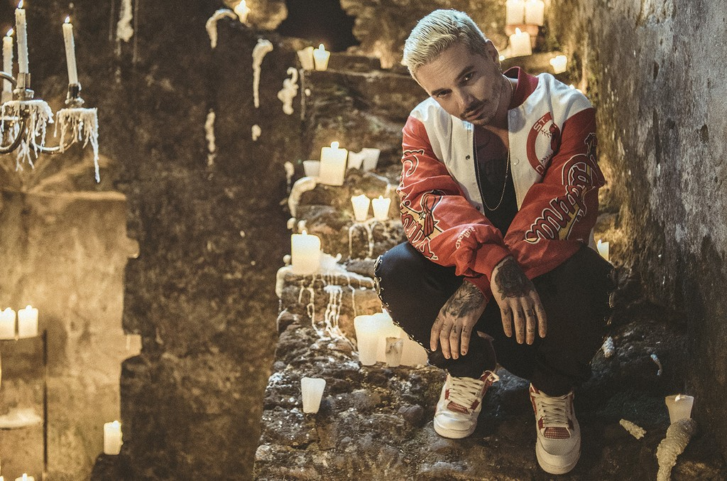 J Balvin photographed in 2013