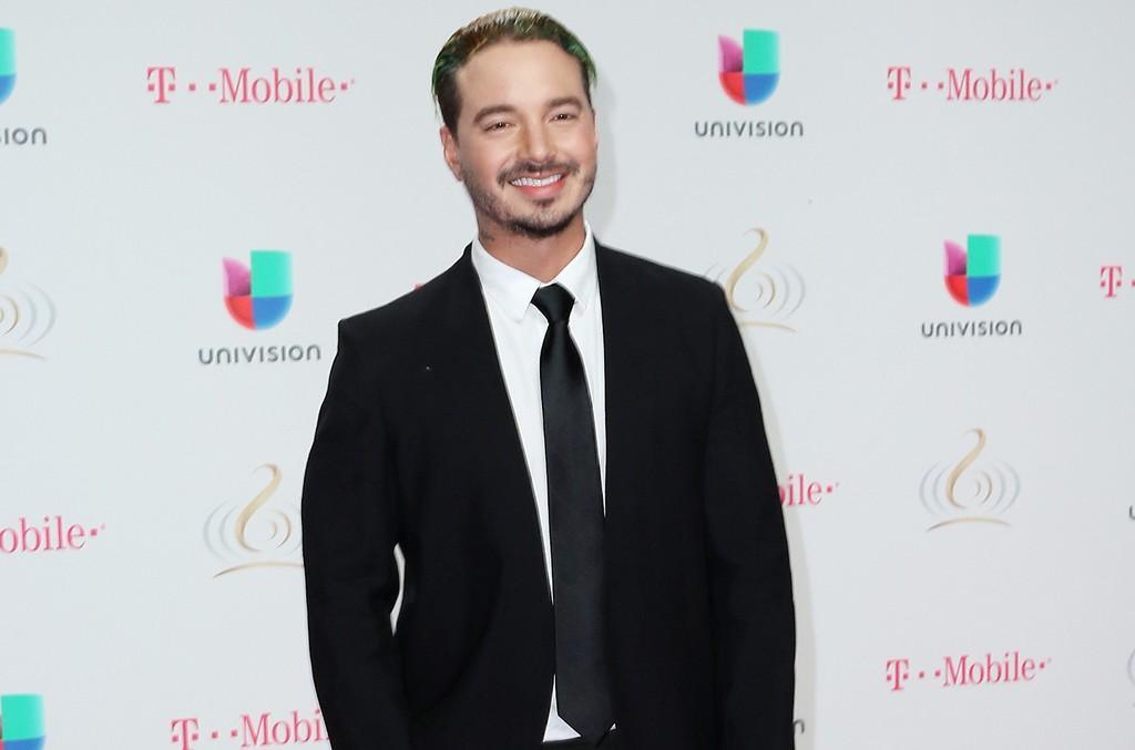 J Balvin attends Univision's 29th Edition of Premio Lo Nuestro A La Musica Latina at the American Airlines Arena on Feb. 23, 2017 in Miami.