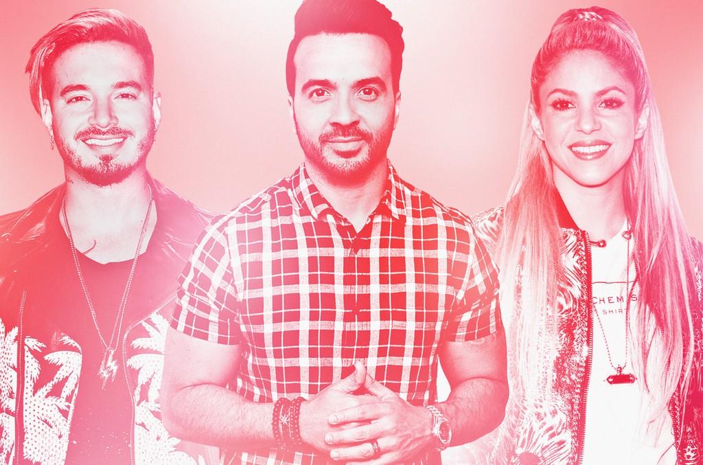 J Balvin, Luis Fonsi & Shakira