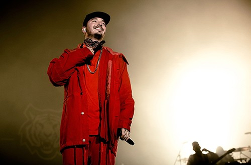 J Balvin Performs at The Shrine Expo Hall