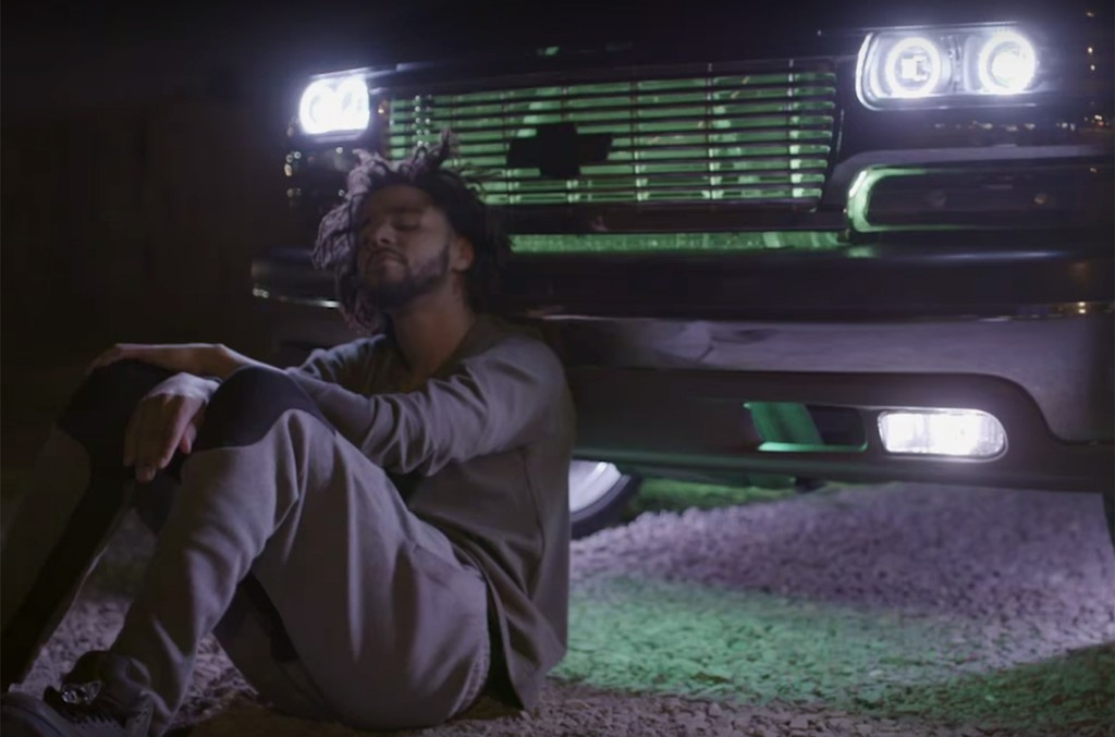 J. Cole in the trailer for HBO's 4 Your Eyez Only