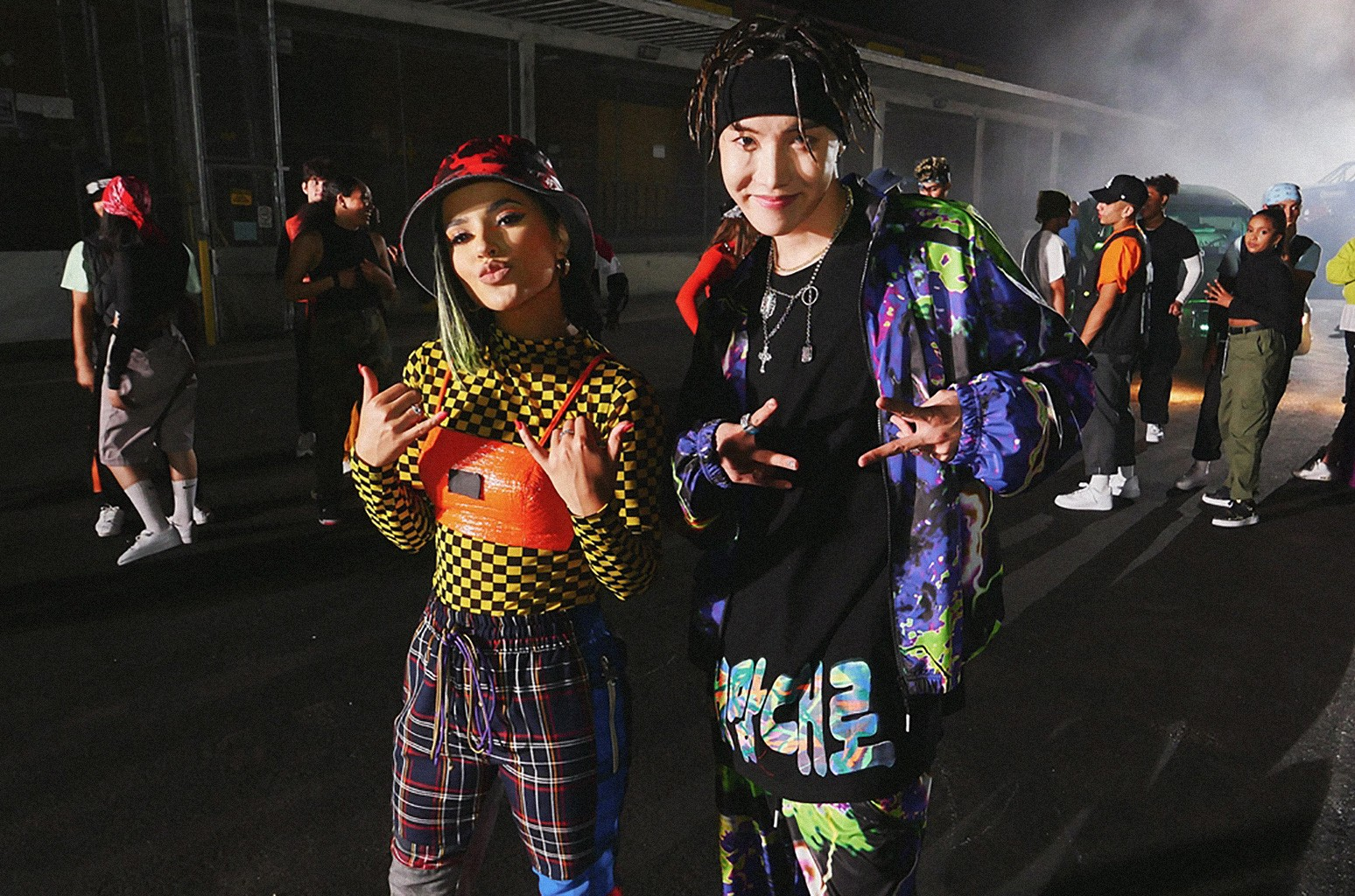 Becky G and J-Hope